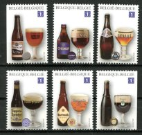BE   4195 - 4200   XX   ---   6 Bières Trappistes Belges  --  Timbres Du Bloc BL197 - Belgique