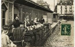 769  -  DIEPPE  :  MARCHANDES DE MOULES -   Metier - Marchandes - Gros Plan  - G.Marchand 257 -  Circulée En1907 - Dieppe