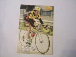 FIGURINA TIPO CARDS MERLIN ULTIMATE, CICLISMO, 1996,  CARD'S N° 144 DANIELE SGNAOLIN - Ciclismo