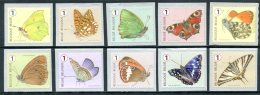BE   4452 - 4461   XX   ---   Papillons  --  Timbres De Rouleau - Belgio