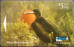 Telefonkarte Fiji - Fidschi - Greater Frigatebird - Vogel - 09FJB - Fiji