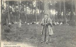 40  Berger Landais Tricotant CPA 1904 - Personnages