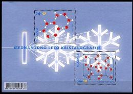 BE   BL216   XX   ---   Année De La Cristallographie - Libretti 1962-....
