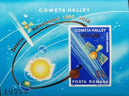 Romania  2016  Istoria Astronomiei 1066-2016 S/S - Unused Stamps