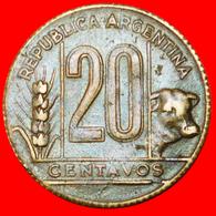# BULL (1942-1950): ARGENTINA ★ 20 CENTAVOS 1949! LOW START ★ NO RESERVE! - Argentina