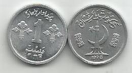 Pakistan 1 Paisa 1978. KM#33 FAO - Pakistan