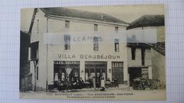 Ardèche 07 MONTPEZAT Villa BEAUSEJOUR Café VIGNE - Animée - France