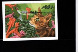 628775422 SIERRA LEONE 1997 ** MNH SCOTT 2040 DOMESTIC CATS - Sierra Leone (1961-...)