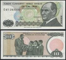 Turkey P 192 - 10 Lira 1979 - UNC - Turchia