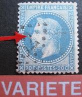 """DF/1078 - NAPOLEON III Lauré (pliure) N°29Bb - VARIETE """" à La Corne """" (CASE 72B2) - Cote : 130,00 € - 1863-1870 Napoléon III Lauré"""