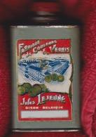 Dison ( Près De Verviers  ) Fabrique De Couleurs & Vernis JULES LEJEUNE Boite Ancienne  Vers 1925 / RARE - Boîtes/Coffrets