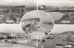 WEST BAY (Dorset) - Multiple Image Card Used 1962 - England