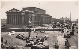 LIVERPOOL (Lancashire) - St.George's Hall, Old Cars And Buses, Fotokarte 193? - Liverpool