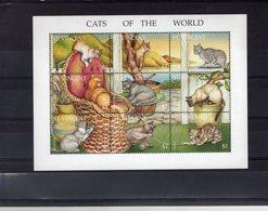 628786165 ST VINCENT 1994  ** MNH SCOTT 2152 CATS - St.Vincent (1979-...)