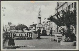War Memorial And Boulevard, Gibraltar, C.1920s - Benzaquen Postcard - Gibraltar