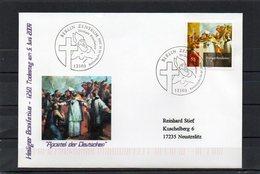 Deutschland, 2004, FDC (individuell), Michel 2401, Echt Gelaufen, Hl. Bonifatius - FDC: Covers