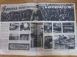 1947 Sommes Nous Toujours Sous L Occupation ?  Wizernes   Blendecques Valenciennes Dunkerque Malo Les Bains - Unclassified