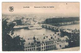 CPA : NAMUR - Panorama Et Pont De Jambes , Maisons De La Rue Notre Dame - Namur
