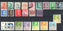 Miscellaneous Different Used Stamps - Hong Kong (1997-...)