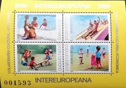 Romania   1989 INTEREUROPEANA  S/S - 1948-.... Republics