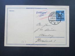 DR Infla 10.1923 Nr. 284 PK Notmaßnahme Stempel R1 Gebühr Bezahlt Und Handschriftl. Vermerk! Geprüft Infla - Deutschland