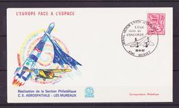 ESPACE - 1982/05 - Concorde à Liège – L'Europe Face à L'espace - Aérospatiale - 1 Document - Ruimtevaart