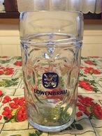 Bicchiere Boccale Birra Löwenbräu Oktoberfest 1 Litro Originale - Bicchieri