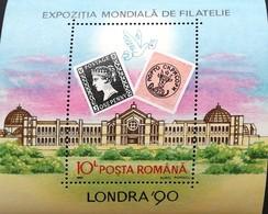 "Romania   11990 Stamp World London ""90 S/S - 1948-.... Republics"