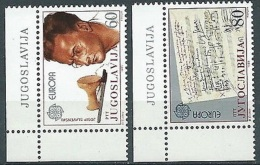 1985 EUROPA JUGOSLAVIA MNH ** - EV - Europa-CEPT