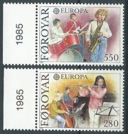 1985 EUROPA FAEROER MNH ** - EV - Europa-CEPT