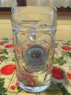 Bicchiere Boccale Birra Hacker Pschorr  Oktoberfest 1 Litro Originale - Bicchieri