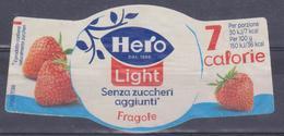 Etichetta Marmellata Hero Light - Altre Collezioni