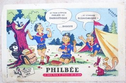 ANCIEN BUVARD SCOUTS DE FRANCE SCOUTISME CROIX POTENCEE LE BON PAIN D EPICES DE DIJON PHILBEE - Scoutisme