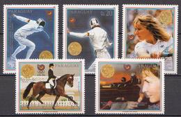 Paraguay MNH Set - Zomer 1988: Seoel