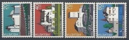 1977 SVIZZERA PRO PATRIA CASTELLI MNH ** - SZ202 - Pro Patria