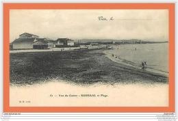 A495 / 161 34 - CETTE Vue Du Casino KURSAAL Et Plage - France