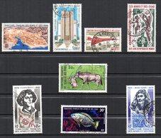 Col10 / Afars & Issas PA  : N° 59 60 61 66 72 80 87 & 88  Oblitéré Cote : 47,60€ - Afars Et Issas (1967-1977)