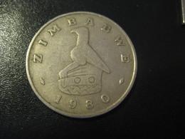 1 One Dollar ZIMBABWE 1980 Coin - Zimbabwe