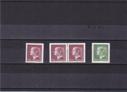 SUEDE 1976 CHARLES XVI Yvert 914-915 + 914a NEUF** MNH - Suède