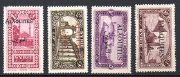 Col10 / Alaouites  : N° 26 29 32 33  Neuf X MH Cote : 7,85€ - Alaouites (1923-1930)