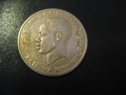 1 One Shilingi Moja TANZANIA 1966 Coin - Tanzanie