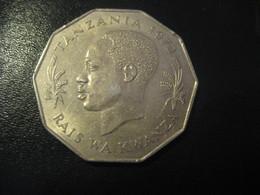 5 Five Shilingi Tano TANZANIA 1972 Coin - Tanzanie