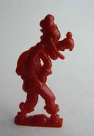 FIGURINE PUBLICITAIRE CAFE DONALD 1955 1ère Série - DISNEY DINGO GOOFY Rouge Pas Cosmos Jux - Disney