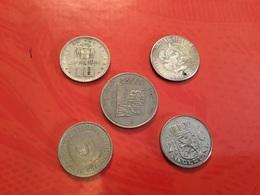 Lot De 5 Pièces Voir Le Scan - Monnaies & Billets