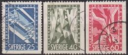 1953: Schweden Mi.Nr. 385-387 Gest. (d727) / Suède Y&T No. 378-380 Obl. - Schweden