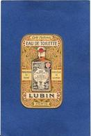 Carte Parfumée Parfum Publicité Publicitaire LUBIN 8 X 4,6 - Parfumkaarten