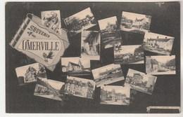 Cpa 95 Souvenir D'Omerville Multivues - Altri Comuni