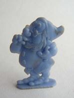 FIGURINE PUBLICITAIRE CAFE DONALD 1955 - DISNEY NAIN BLANCHE NEIGE PROF Bleu Pas Cosmos Jux - Disney
