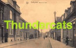 CPA  DOTTIGNIES RUE DE LA GARE - Mouscron - Moeskroen