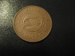 1/2 Half Cent SIERRA LEONE 1964 Coin - Sierra Leone
